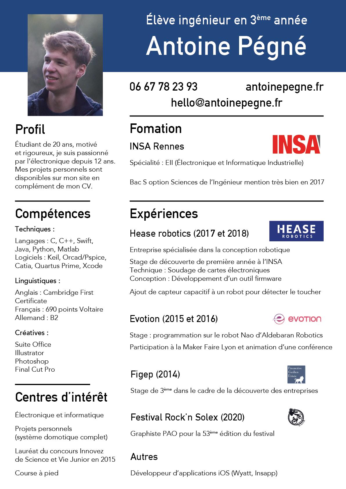 Antoine Pégné